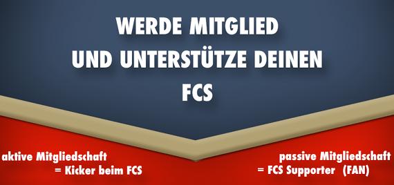 Werde Mitglied beim FC Saalfeld!