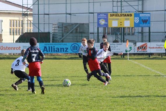 Klarer Derbysieg beim TSV Zollhaus
