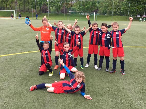 F-Junioren mit Auswärtssieg