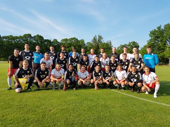 FC Saalfeld unterliegt Nationalteam der Deutschen Post