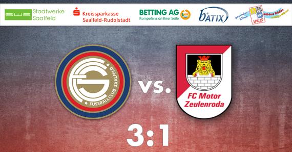 FC Saalfeld mit Auftaktsieg