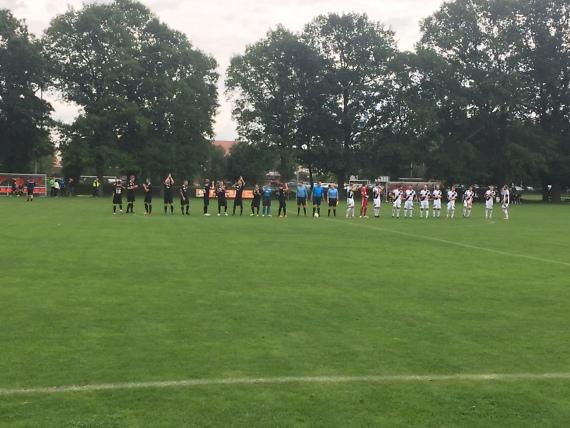 FC Saalfeld schaltet erneut Verbandsligisten aus